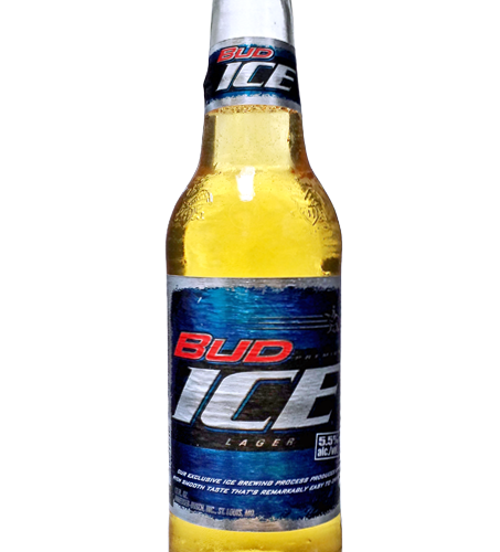 Bud Ice Bottle