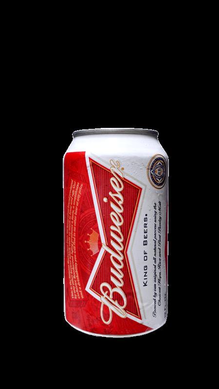 Budweiser Cans Kingdom Liquors