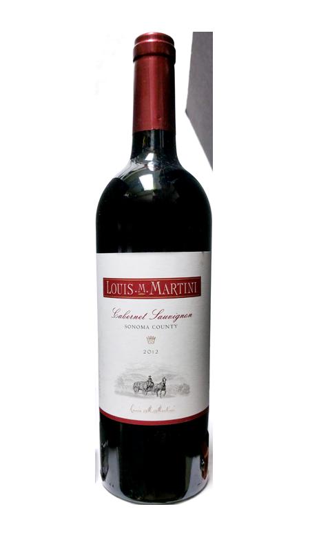 Louis M. Martini Alexander Valley Cabernet Sauvignon Red